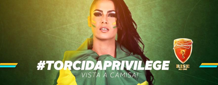 Imagem #TORCIDAPRIVILEGE BRASIL vem com tudo!