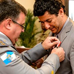 imagem Privilège recebe medalha
