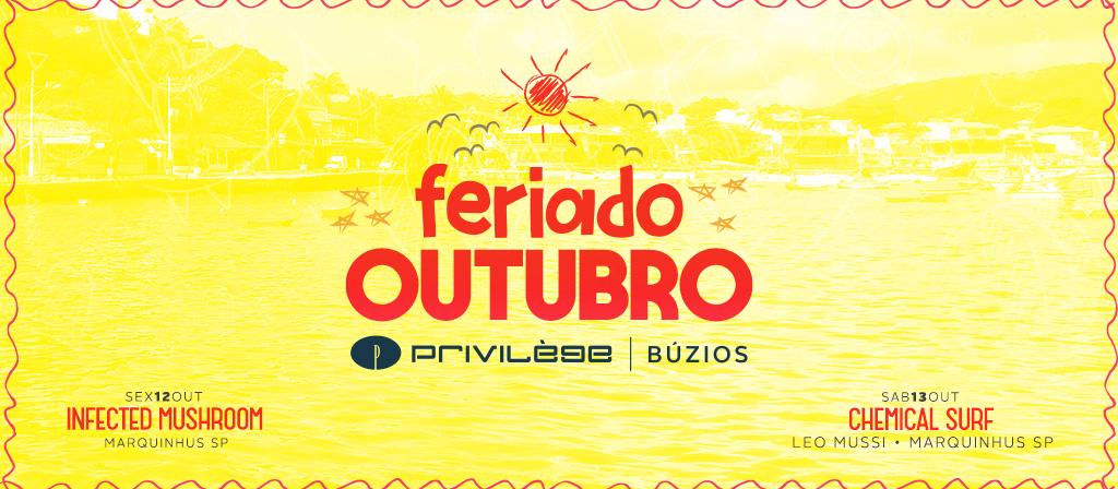 FERIADO DE OUTUBRO
