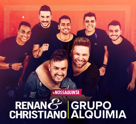 Evento RENAN E CHRISTIANO ALQUIMIA 05/04