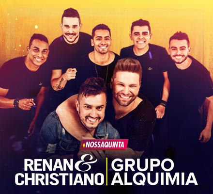 Evento RENAN E CHRISTIANO ALQUIMIA 19/04