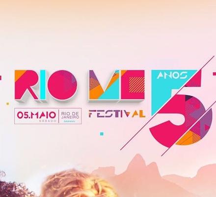Evento RIO ME FESTIVAL - 5 ANOS