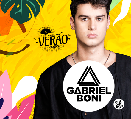 Evento ABERTURA DO VERÃO: GABRIEL BONI [Long set]