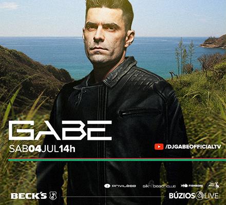Imagem BÚZIOS LIVE - GABE (Ponta da Lagoinha) - Privilège YOUTUBE