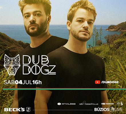 Evento BUZIOS LIVE - DUBDOGZ (Apuã Concept - Manguinhos)