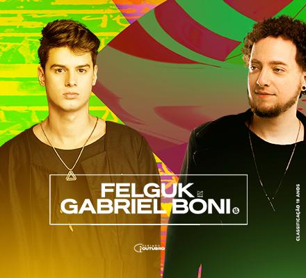 Evento Felguk e Gabriel Boni